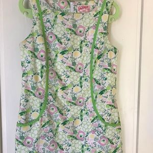 Queen of green shift Lilly pulitzer